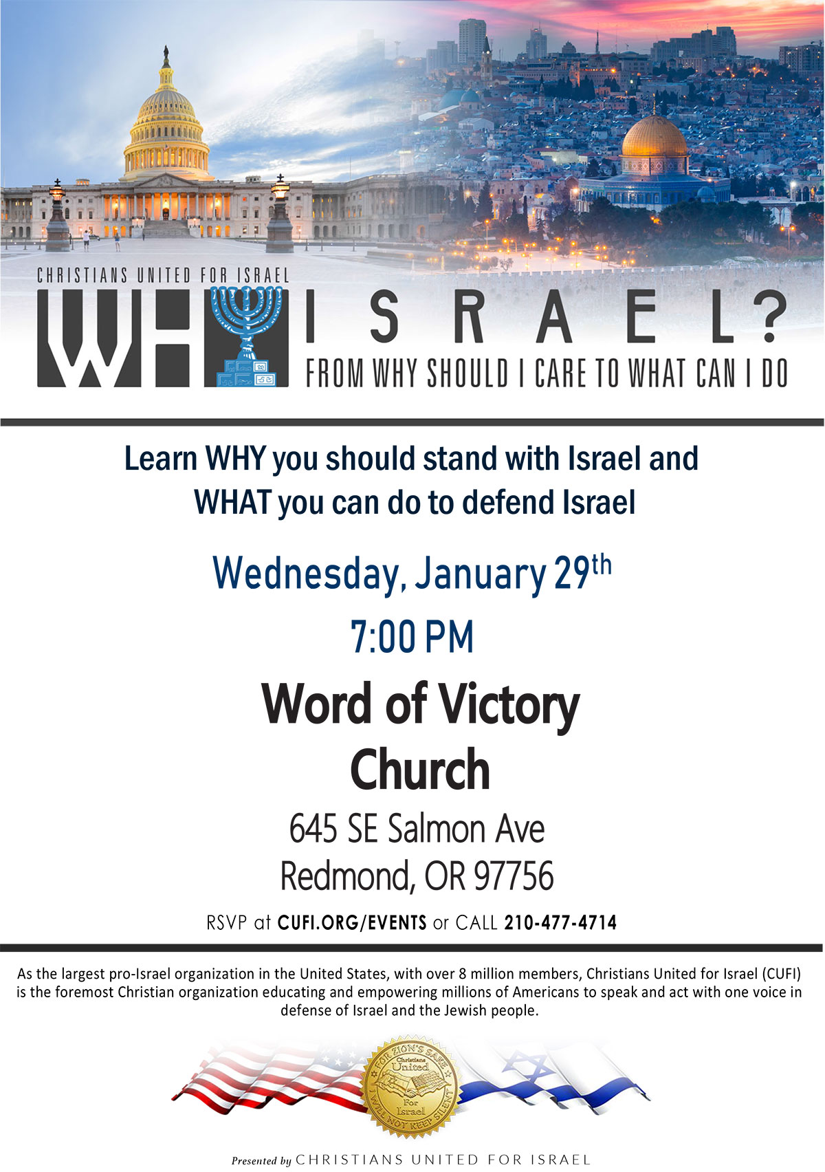 stand with israel christians united for israel